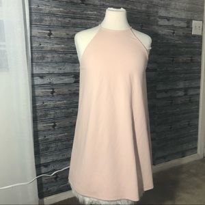 FOREVER 21 blush pink dress